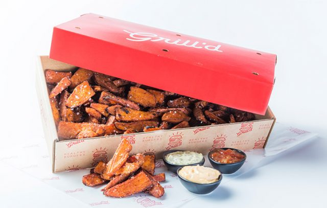 Sweet Potato Chips Catering